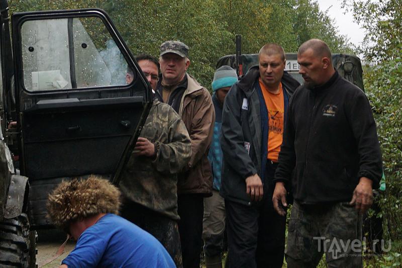 С кандалакшскими джиперами на гору Небло / Россия