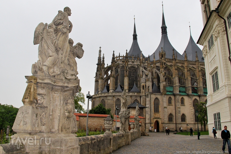 Самый красивый храм Чехии. Собор Св. Варвары в Кутна Горе / Фото из Чехии