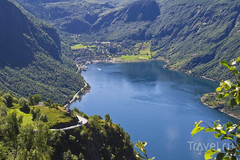 Норвегия. Через Дорогу троллей на машине / Фото из Норвегии
