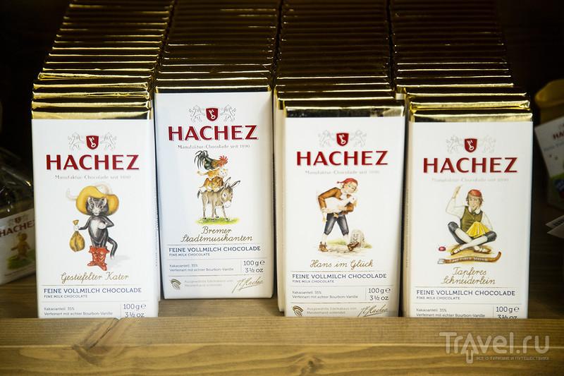 Сладкоежкам на заметку: Hachez. Chocoversum - музей шоколада в Гамбурге / Германия