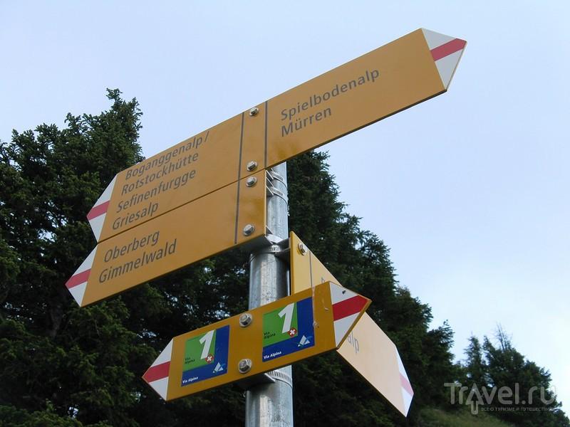 Шильтхорн и Бонд, Джеймс Бонд / Швейцария