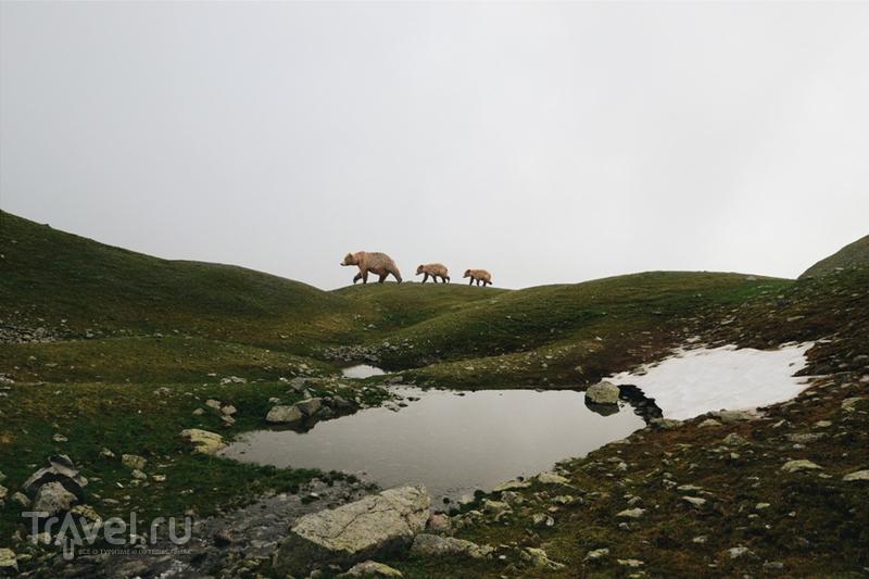 Дождливые озера Магишо / Россия