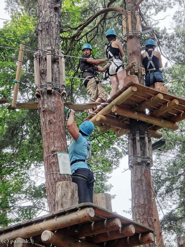 Adventure Park Korkee в Хельсинки / Финляндия