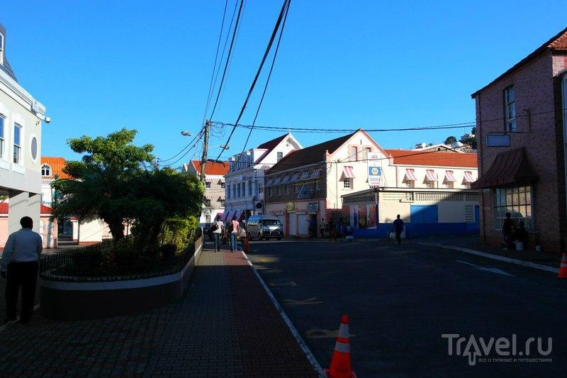 Сент-Джорджес, Гренада - Город перед походом в глубь острова / Гренада