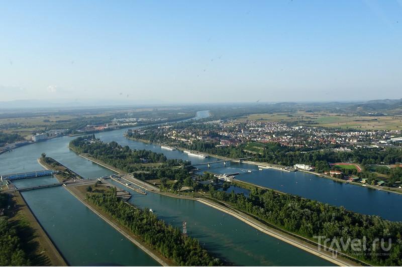 Neuf-Brisach и Эльзас, Франция плюс Брайзах, Германия / Германия