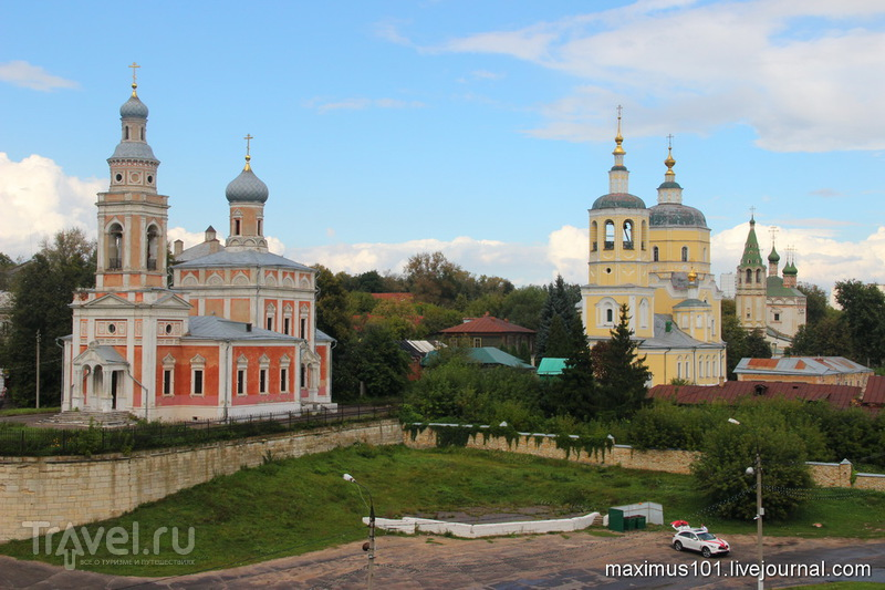 Каменный кремль Серпухова / Фото из России