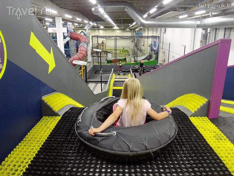 Приключения в Супер-Парке Вантаа (Super Park Vantaa) в Хельсинки / Финляндия