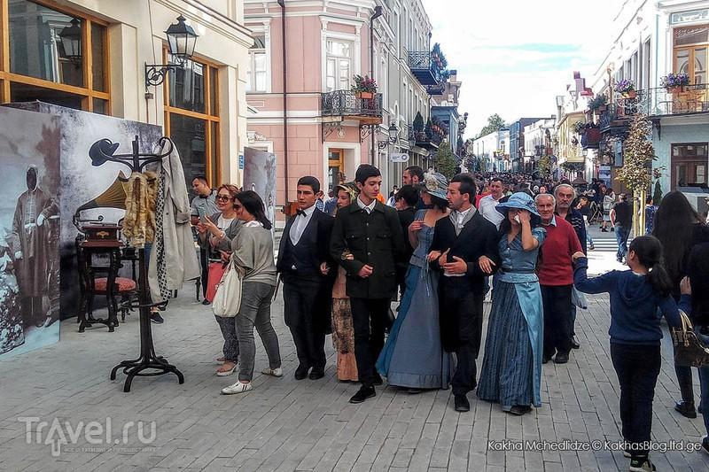 Историческая часть Тбилиси стала пешеходной / Грузия
