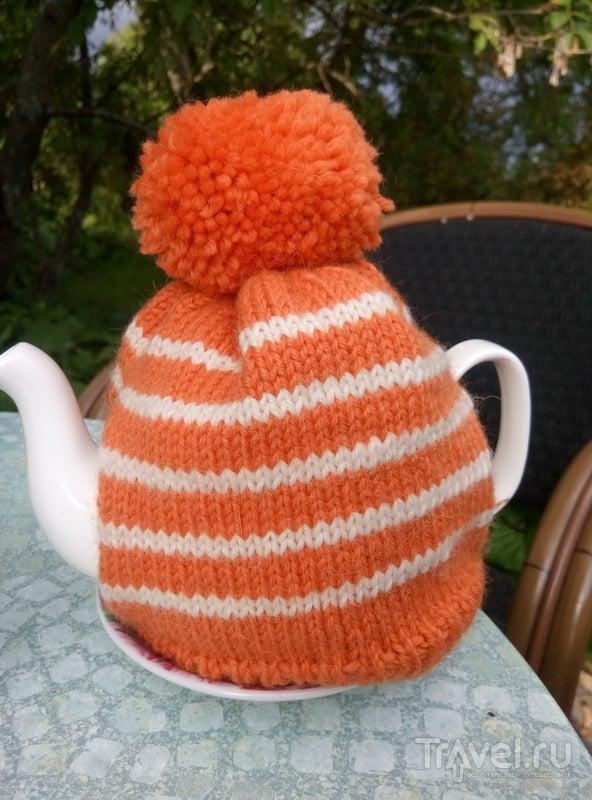 Чтобы чайник не остыл