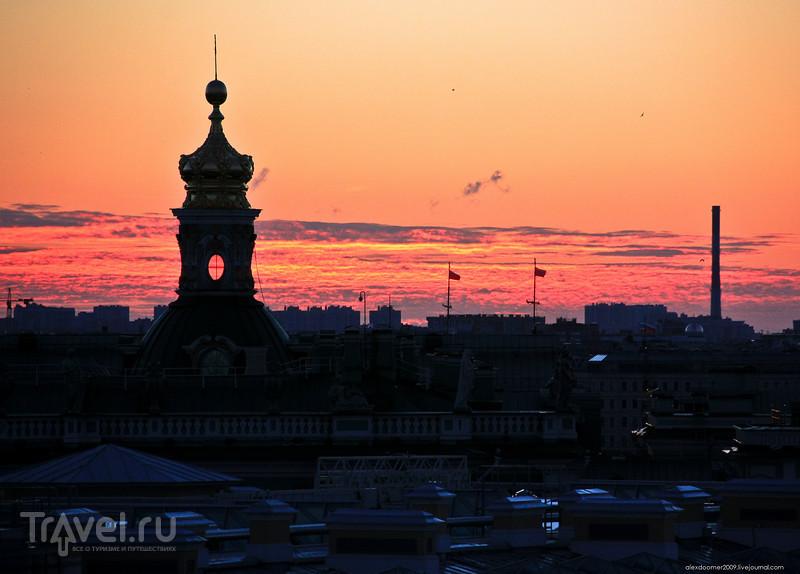 Парадные и крыши северной столицы / Фото из России