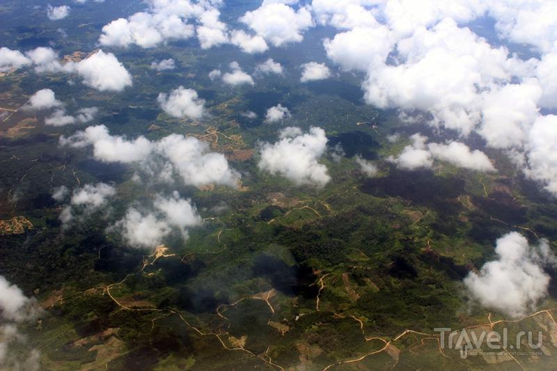 Полеты над Индонезией: Суматра, Ява, Борнео / Фото из Индонезии