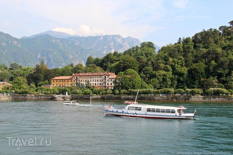 Тихий и безлюдный городок Ленно на озере Комо / Италия