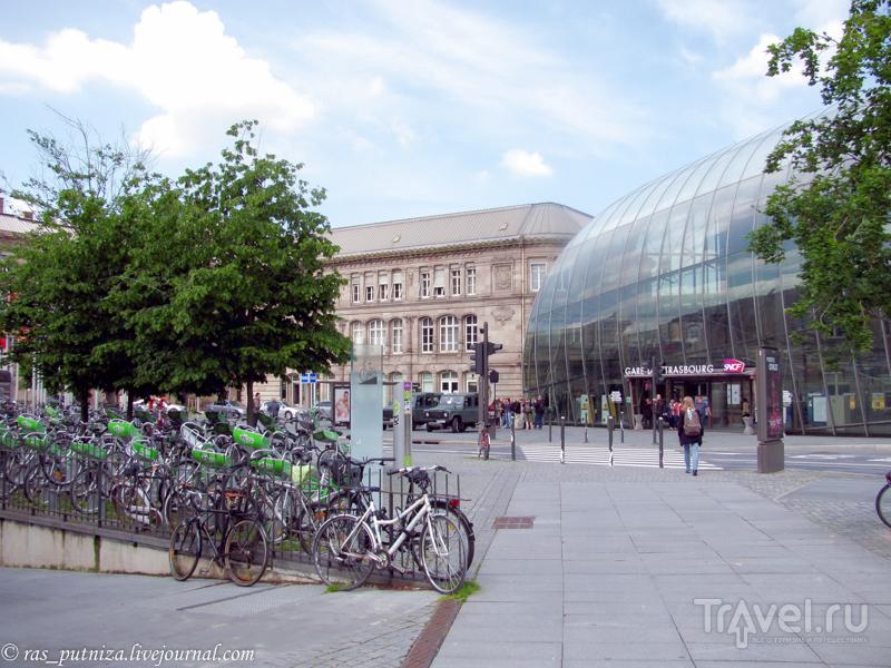На перекрёстке всех дорог. Страсбург / Фото из Франции