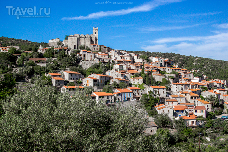 Франция. Деревня Еус / Франция