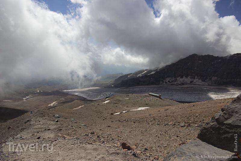 Хождения вокруг Гергетинского ледника и высокогорная церковь / Грузия