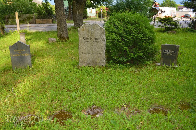 Кладбище погибших в битве при Гумбиннене немецких солдат / Польша