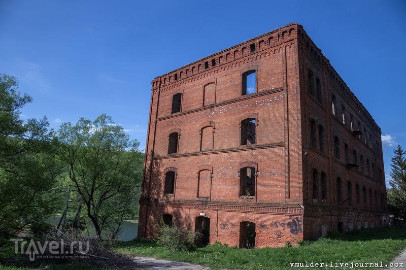 Старая водяная мельница и усадьба Талдыкина / Россия