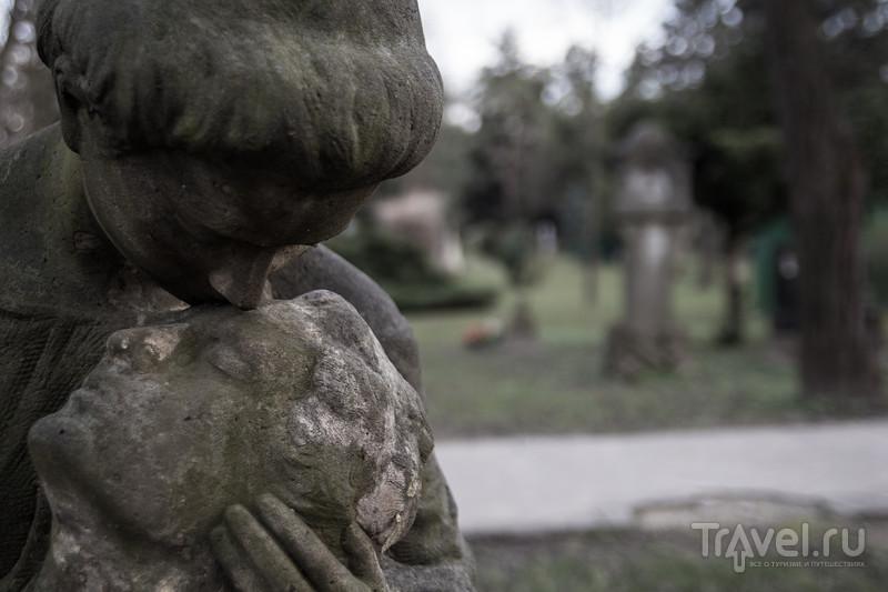 Уютное кладбище рядом с автобусным вокзалом в Братиславе / Словакия