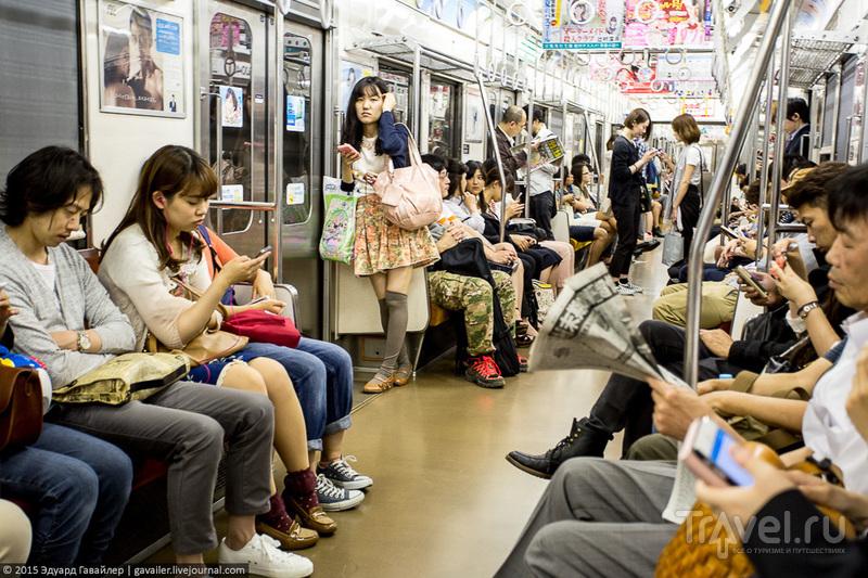 Как научиться ориентироваться в Токио за 48 часов / Фото из Японии