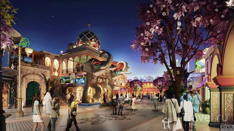 Тематический парк в стиле Болливуда Bollywood Parks Dubai