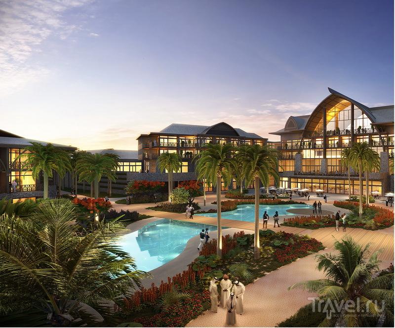 Гостиница в полинезийском стиле Lapita Hotel