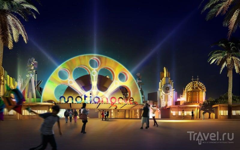 MOTIONGATE Dubai - тематический парк, посвященный Голливуду