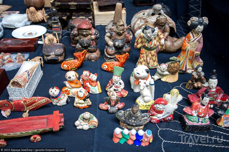 Самый аккуратный в мире блошиный рынок / Фото из Японии