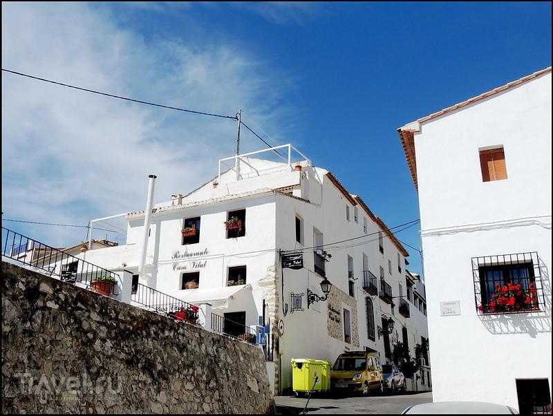 Альтеа. Подъём к Iglesia de Nuestra Senora del Consuelo / Испания