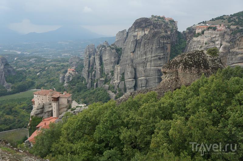Как мы колесили по Балканам. Монастыри Метеоры / Греция