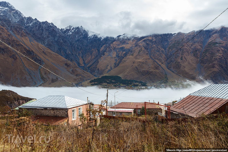 Степанцминда - самый русский поселок в Грузии / Фото из Грузии