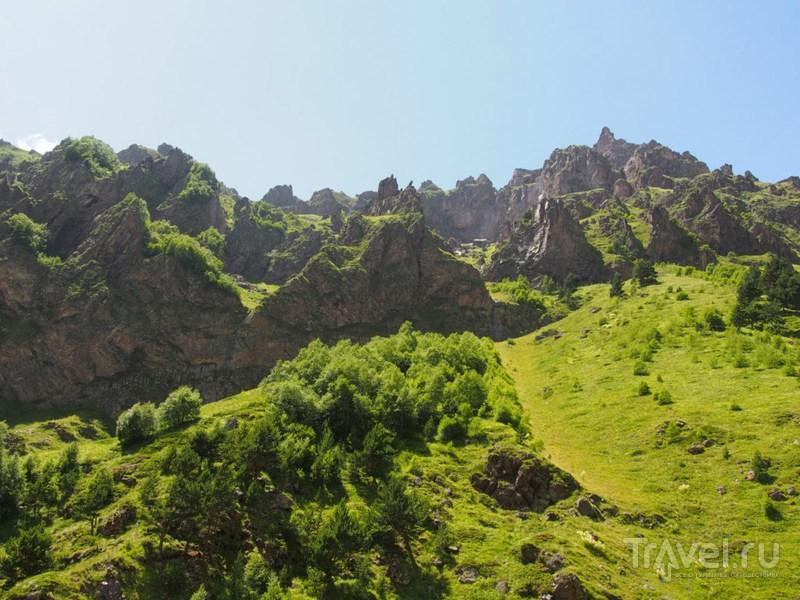 Прогулка по долине Терскол / Фото из России