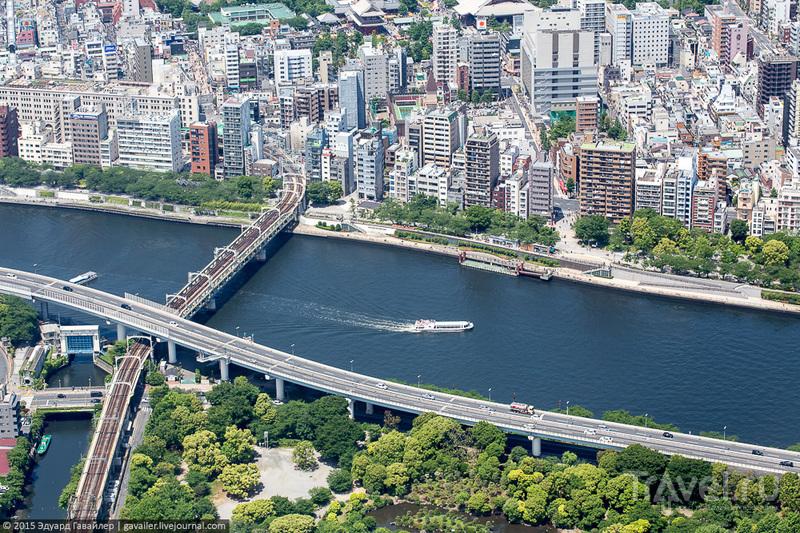 Самая высокая в мире телебашня и Токио / Фото из Японии