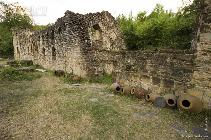 Монастырь Святого Зенона в Икалто. Превосходная древняя академия Икалто / Грузия