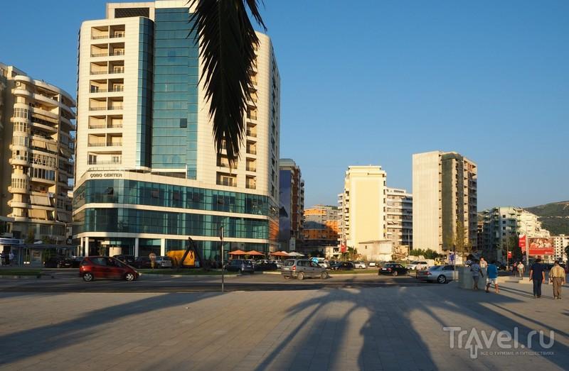 На своем авто по Албании. Влёра / Фото из Албании