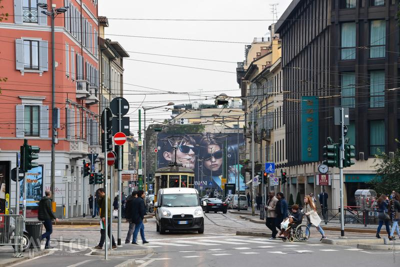 Миланский октябрь / Фото из Италии