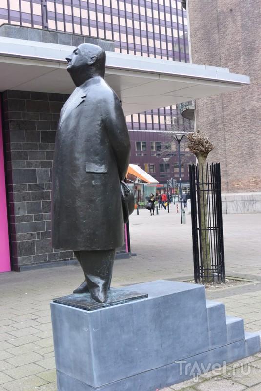 Скульптуры Роттердама. Про Петра Первого, Мужа Куклы и Разрушенный Город