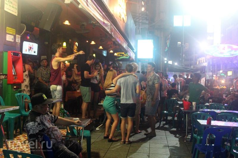 Бангкок. Улица Каосан / Таиланд