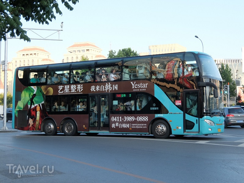 Далянь, китайский город в детальном рассмотрении / Китай