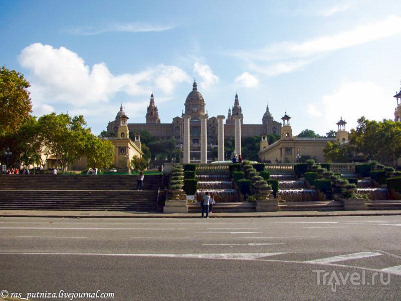 Увидеть и вкусить Испанию. Poble Espanyol, Барселона / Испания