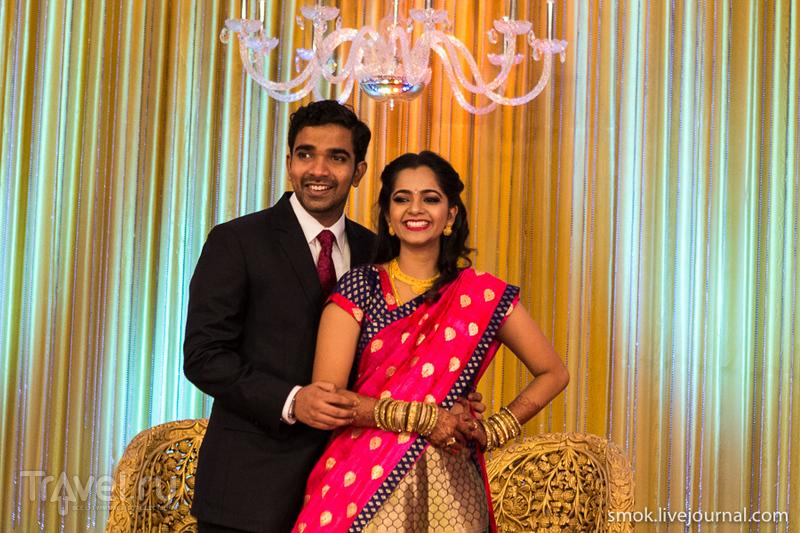 Свадьба брахманов в Индии / Индия