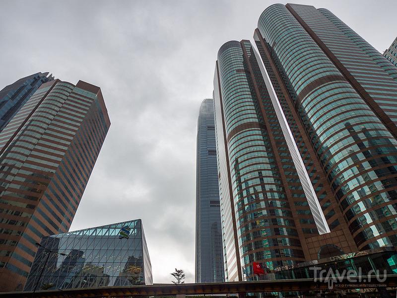 Отражения Гонконга / Фото из Китая