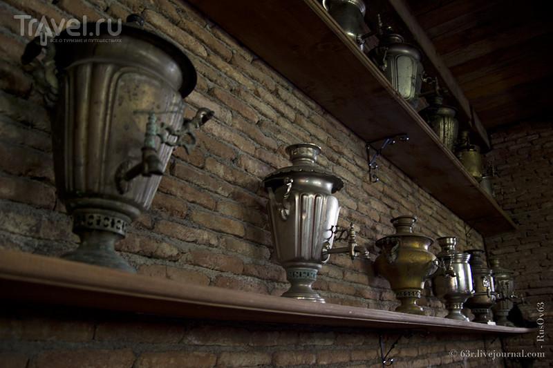 Музей грузинской утвари в винном доме Нумиси / Грузия