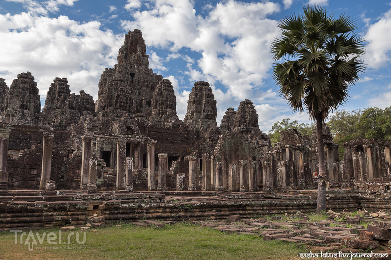 Bayon: взглянуть в глаза Авалокитешваре / Фото из Камбоджи
