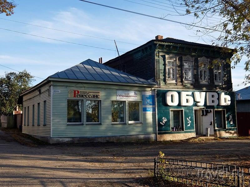 Прямоугольный вертикальный памятник Дмитров