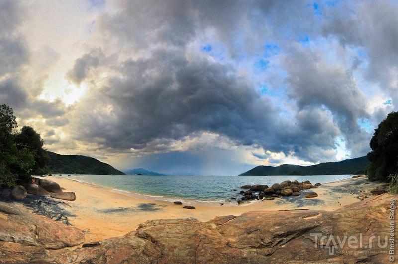 2 недели на юге Бразилии. Trindage, Ilha Grande / Бразилия