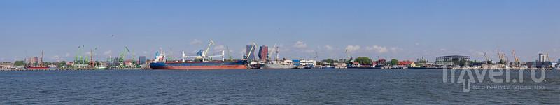 Клайпеда: центр города и порт / Фото из Литвы