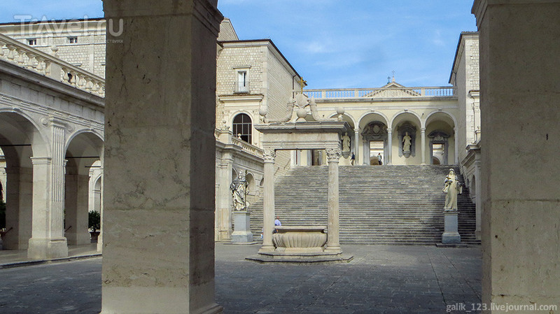 Италия. Аббатство Монтекассино / Италия