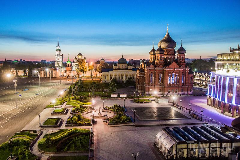 Красивая. Ночная. Тула / Фото из России