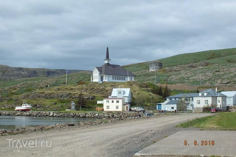 Исландия.  Города Holmavik и Sudavik / Исландия
