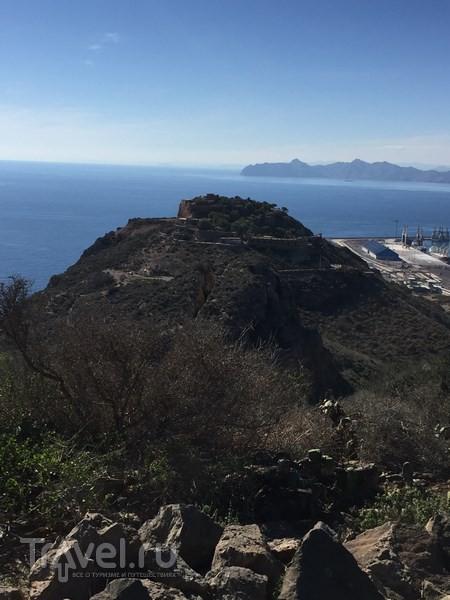 Батареи de Aguilones и Conejos недалеко от Картахены / Испания